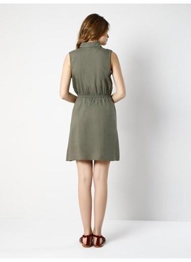Kolsuz Gömlek Elbise-Colin's